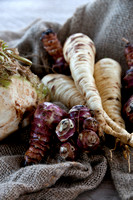 root vegetables, grow and cook Jacky Hobbs