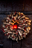 BARK AND BERRY WREATH