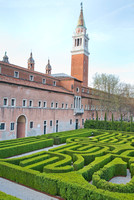 BORGES MAZE, AND SAN GIORGIO CLOCK TOWER