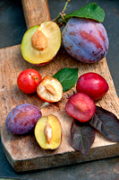 STONE FRUITS;PHOTOGRAPHER MICHELLE GARRETT